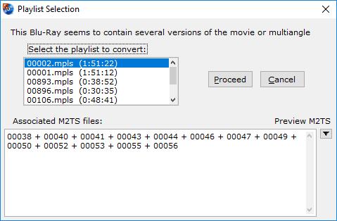 BDtoAVCHD - One Click Blu-Ray to BD5/BD9/BD25/MKV